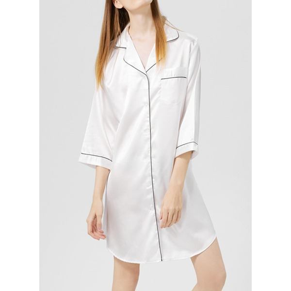 Modern/Contemporary Classic Geometric Polyester Robe