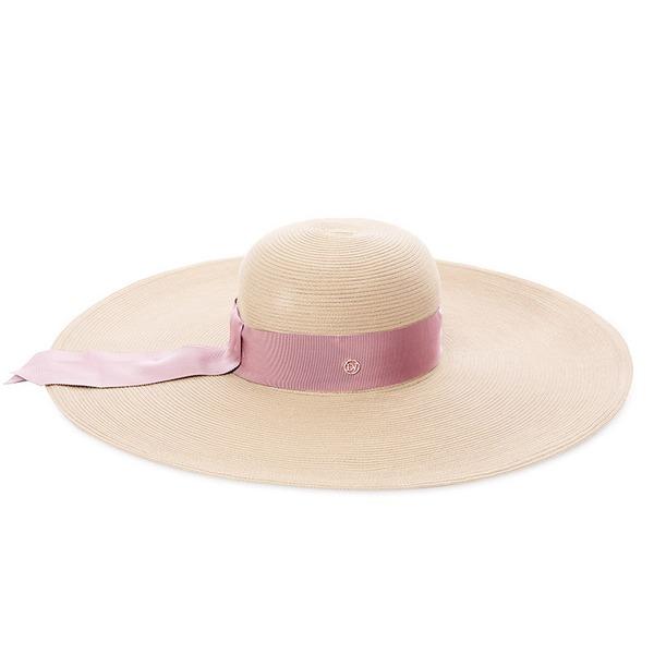 Ladies' Simple/Hottest Polyester/Rattan Straw Straw Hats/Beach/Sun Hats/Kentucky Derby Hats