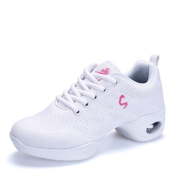 Donna Mesh Sneakers stile moderno Scarpe da Ginnastica Prova Scarpe da ballo