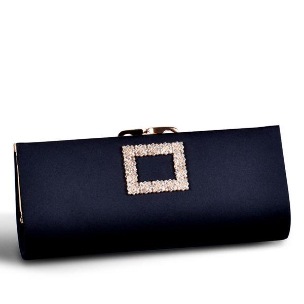 Elegant/På mode/pendling taske Satin Koblinger