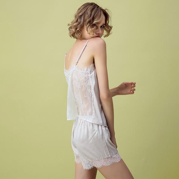 Атлас Свадебная/женственный Нижнее и ночное белье Наборы