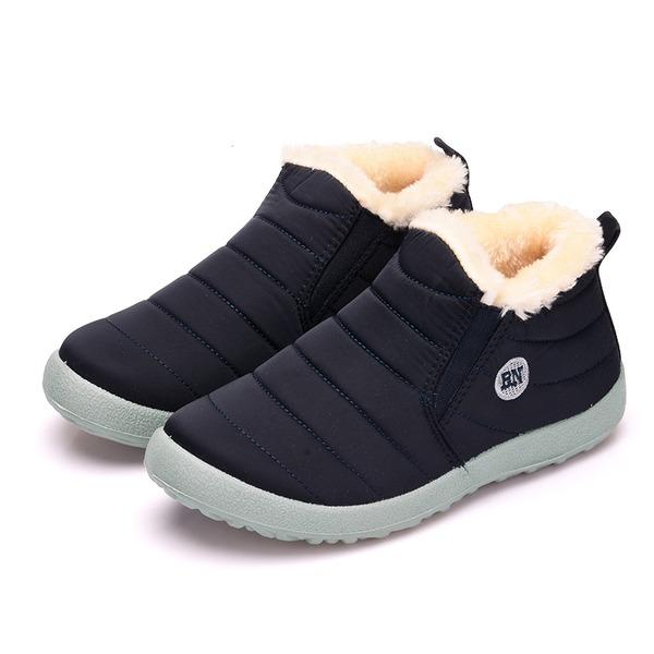 De mujer Tejido Tacón plano Botas zapatos