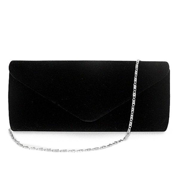 Gorgeous Leather Cashmere Pochette