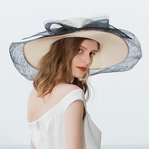 Damer' Vackra Och/Elegant/Iögonfallande Batist Diskett Hat