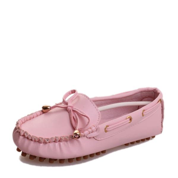 Vrouwen PU Flat Heel Flats Closed Toe met Tassel schoenen
