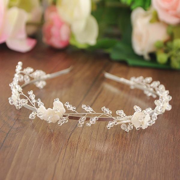 Señoras Glamorosa Perlas Diademas (Se venden en una sola pieza)