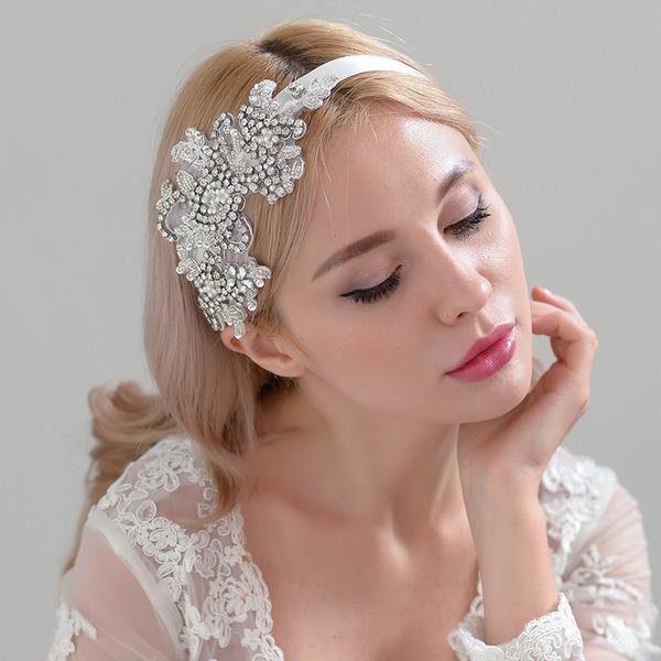 Damen Erstaunlich Satin Stirnbänder mit Strass (In Einem Stück Verkauft)