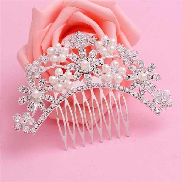 Abbigliamento donna Speciale lega Pettine & clip di capelli con Strass/Perla Veneziano (Venduto in un unico pezzo)