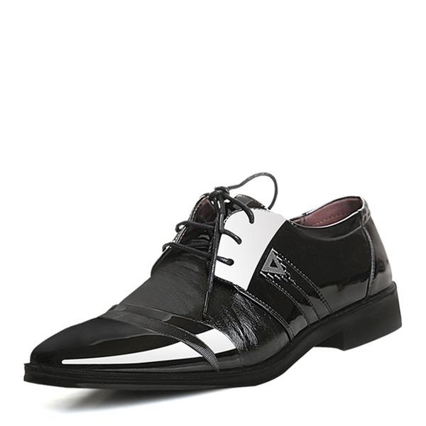 Hommes Cuir en Microfibre Dentelle Chaussures habillées Travail Chaussures Oxford pour hommes