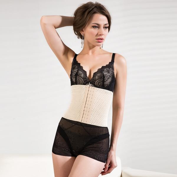 Spandex/Cotton/Chinlon Strapless Shapewear