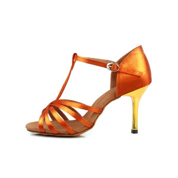 Femmes Satiné Latin Chaussures de danse