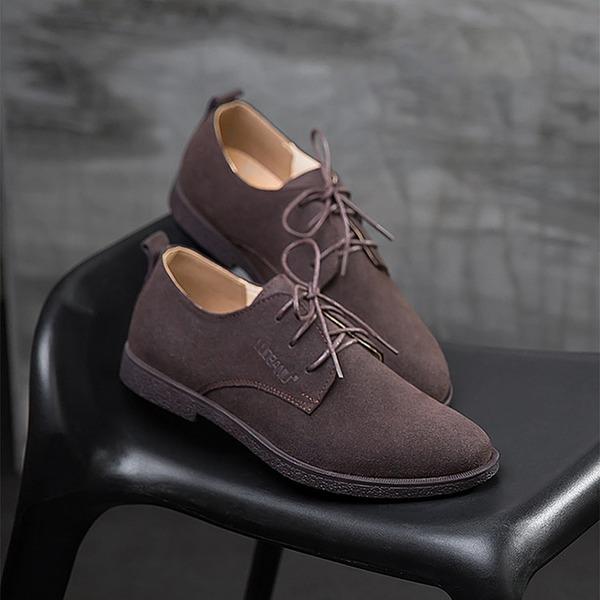 Erkek gerçek deri Bağcıklı Gündelik Erkek Oxford Ayakkabı
