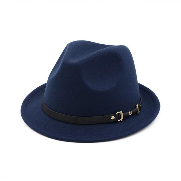 Üniseks Göz alıcı keçe Fötr şapka