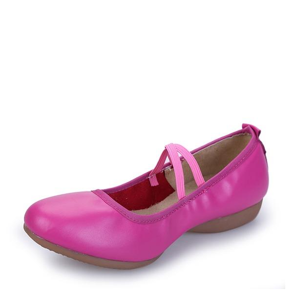 Dla kobiet Prawdziwa Skóra Tenisówki buty do butów Buty do Tańca