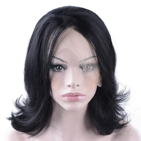 Kroppsvev Syntetiske parykker Lace Front Parykker