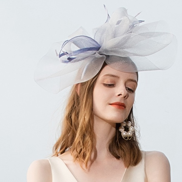 Ladies' Beautiful/Glamourous/Eye-catching/Romantic/Artistic Polyester With Feather Fascinators