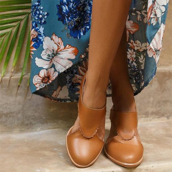 Женщины PU Устойчивый каблук Сандалии На каблуках с Другие обувь