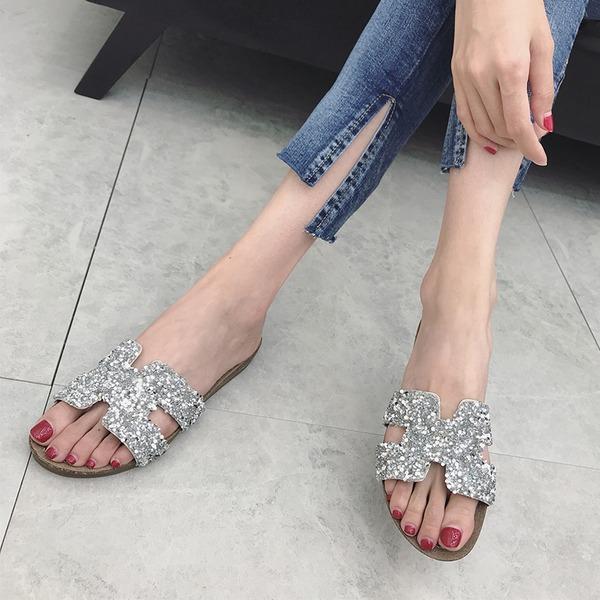 Vrouwen Kunstleer Flat Heel Sandalen Flats met Anderen schoenen