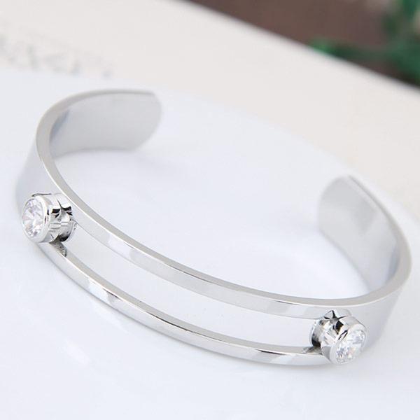 Prachtige Legering Zirkoon Dames Fashion Armbanden
