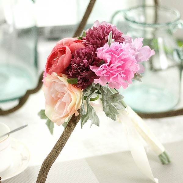 Simple/Classic Beautiful Plastic/Silk Flower Artificial Flowers