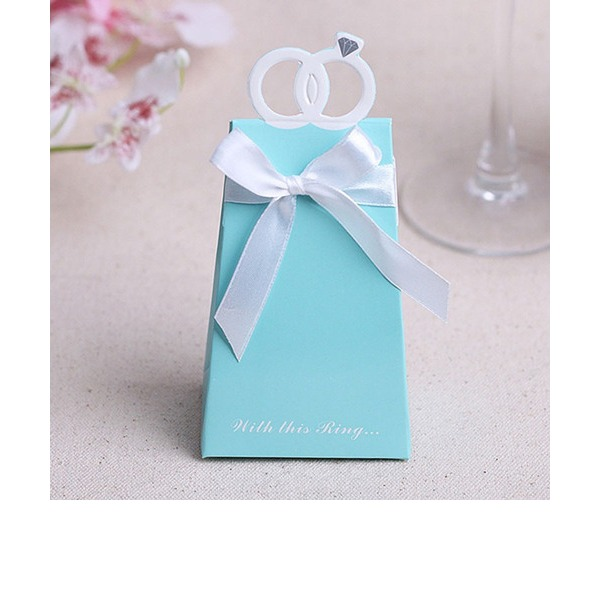 With This Ring Engagement Ring Favor Box (Set of 12)