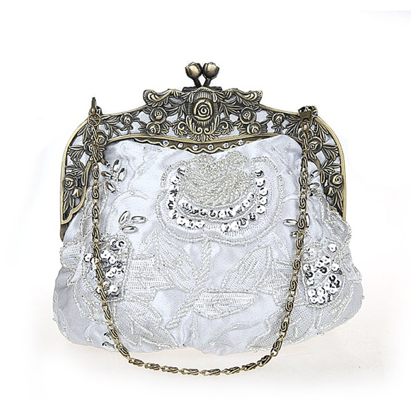 Elegant Polyester Clutches/Wristlets/Wallets & Accessories/Bridal Purse/Fashion Handbags/Makeup Bags/Luxury Clutches