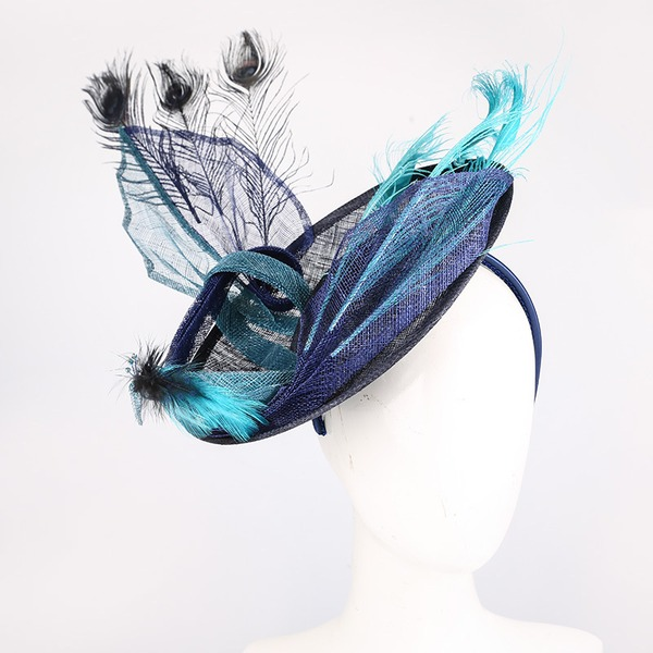 Ladies' Hottest/Artistic Cambric With Feather Fascinators/Kentucky Derby Hats