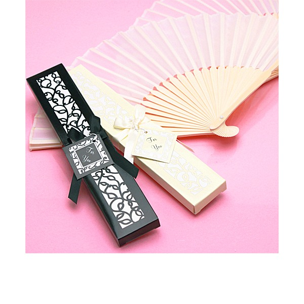 Vintage Style/Elegant Vintage Style Bamboo Hand fan With Ribbons (Sold in a single)