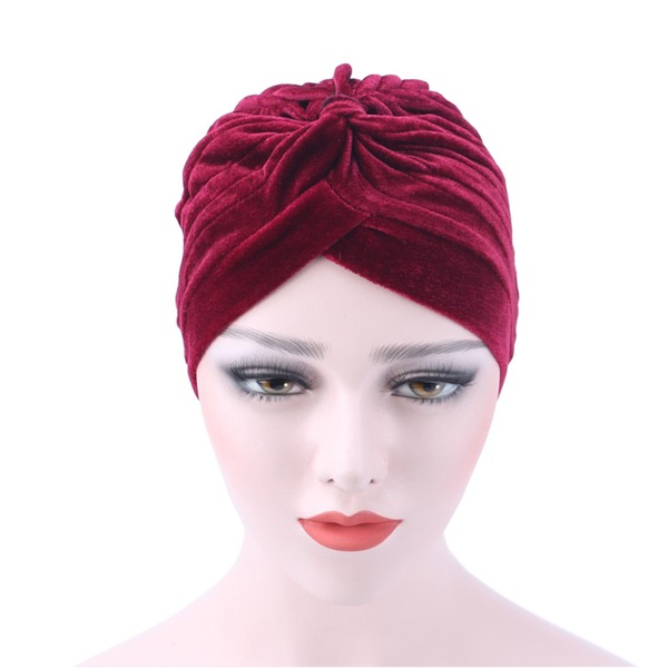Ladies' Simple Velvet Beanie/Slouchy