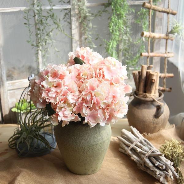 elegante flores de seda Decoración del hogar