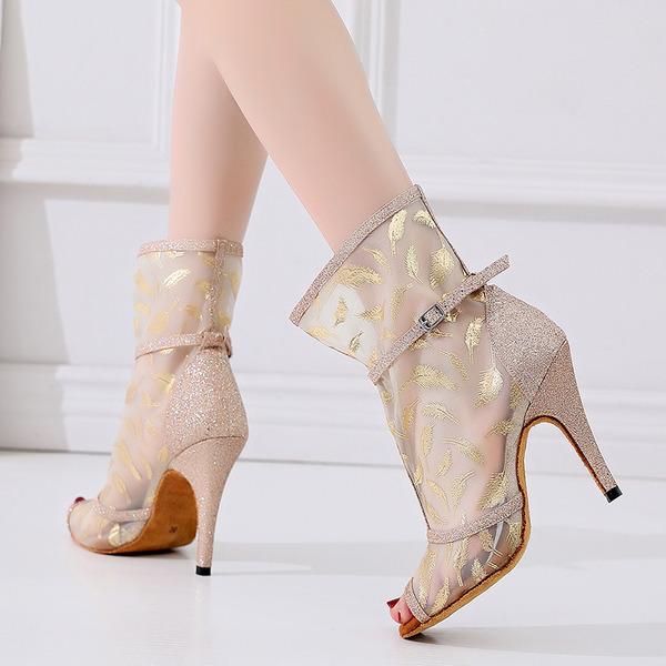 Women's Mesh Latin Dance Shoes