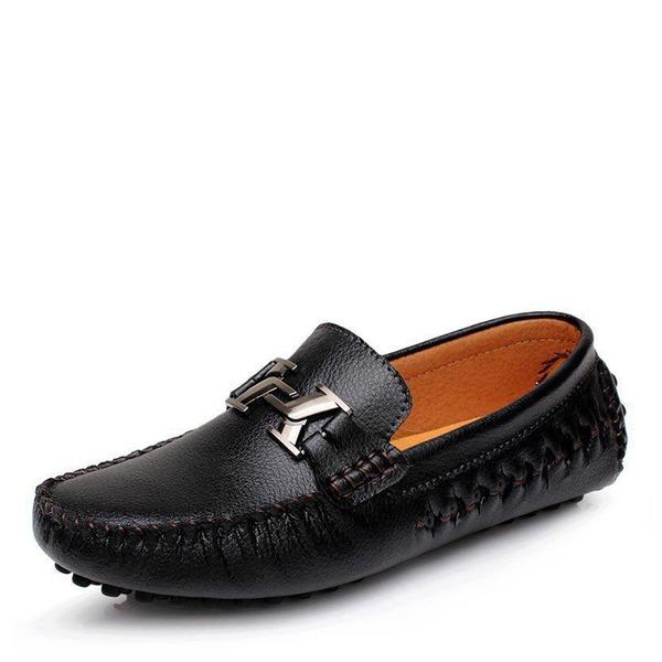 Herren Echtleder Horsebit Loafer Lässige kleidung Herren-Halbschuhe