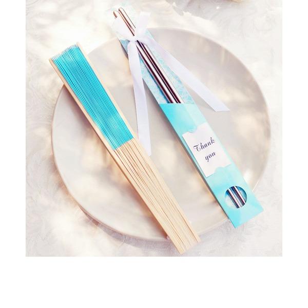 Precioso Acero inoxidable/Bambú (Juego de 2)