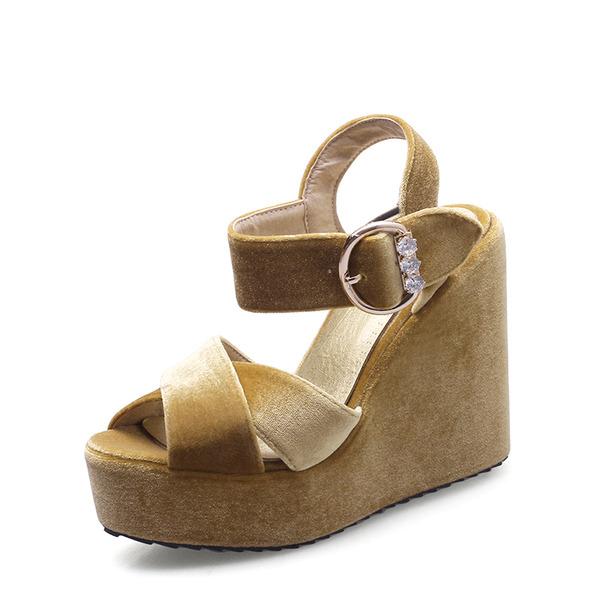 De mujer Tipo de tacón Sandalias con Hebilla zapatos