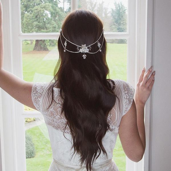 Damer Klassisk stil Legering Pannebånd med Venetianske Perle (Selges i ett stykke)