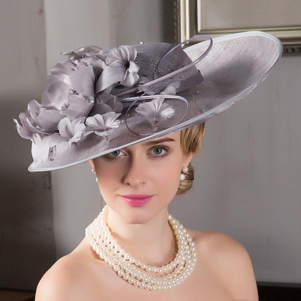 Ladies' Elegant Net Yarn Bowler/Cloche Hats/Kentucky Derby Hats/Tea Party Hats
