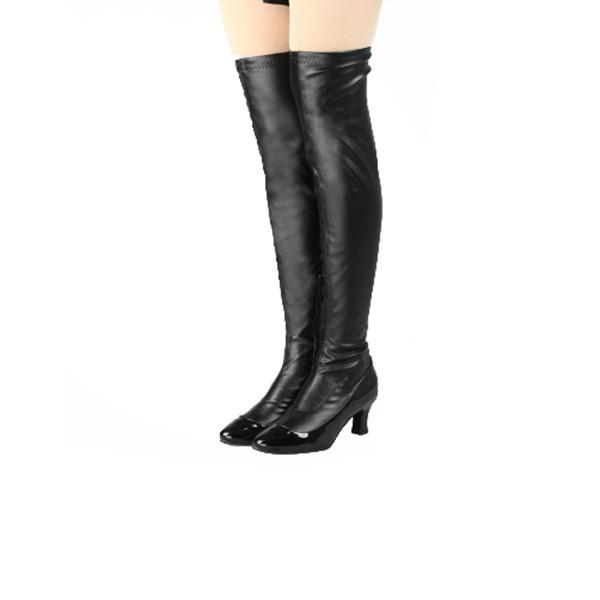 Vrouwen Kunstleer Dance Boots Dansschoenen