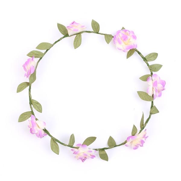 Vakkert Kunstig Silke Blomster og Fjærene