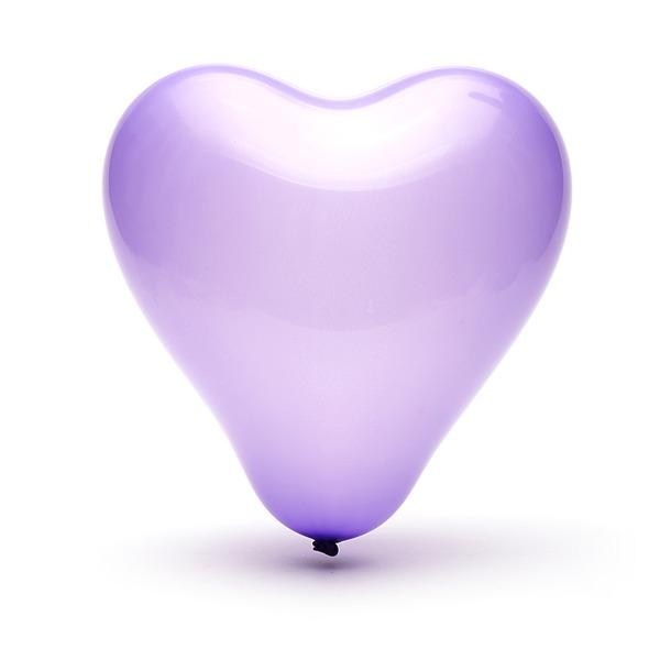 Lovely Sydän suunnittelu Ilmapallo (50 kpl)