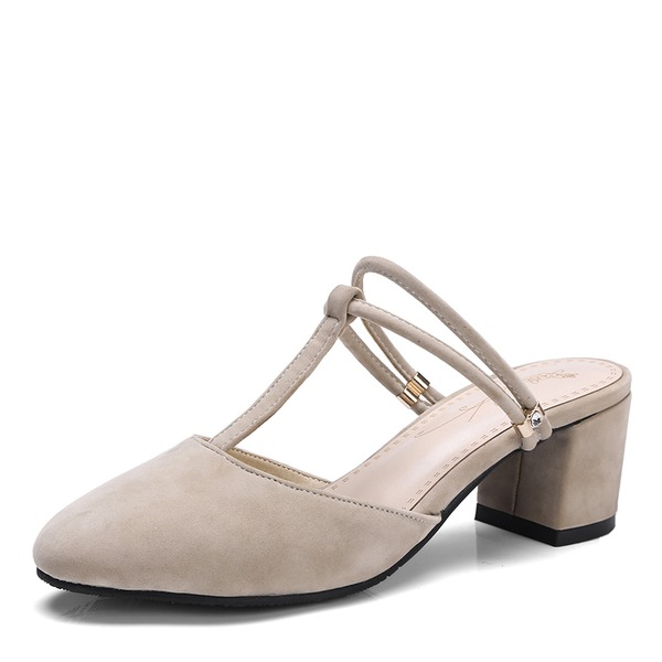 Mulheres Camurça Salto agulha Sandálias Bombas com Outros sapatos