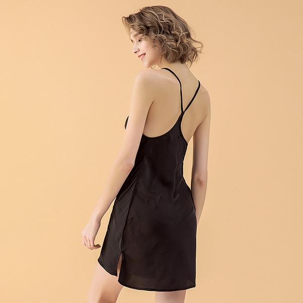 polyester Söt Feminin Nattkläder