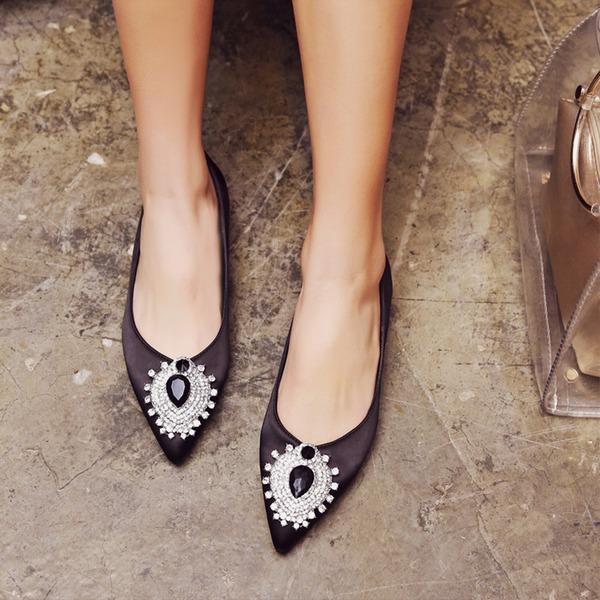 Donna Similpelle Senza tacco Ballerine Punta chiusa con Fibbia Altrui scarpe