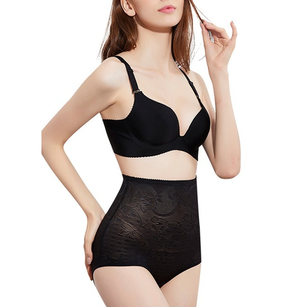 Women Classic/Elegant Chinlon/Nylon Breathability High Waist Panties Shapewear