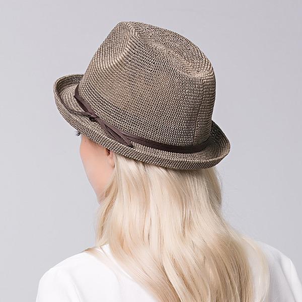 Señoras' Elegante Rafia paja Sombreros Playa / Sol