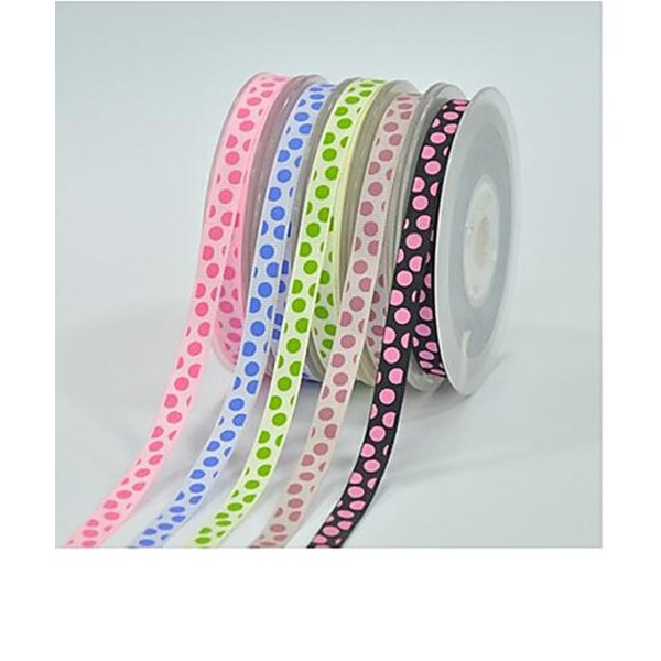 Dot Ribbon Satin