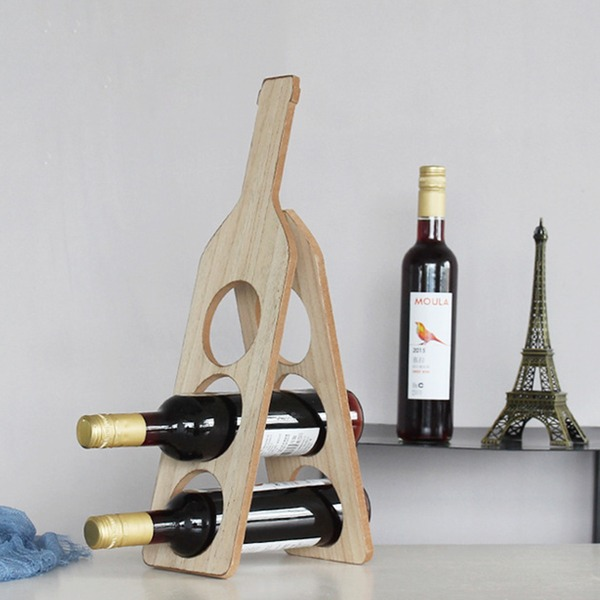 Beautiful Classic Cute Wooden Wine Rack
