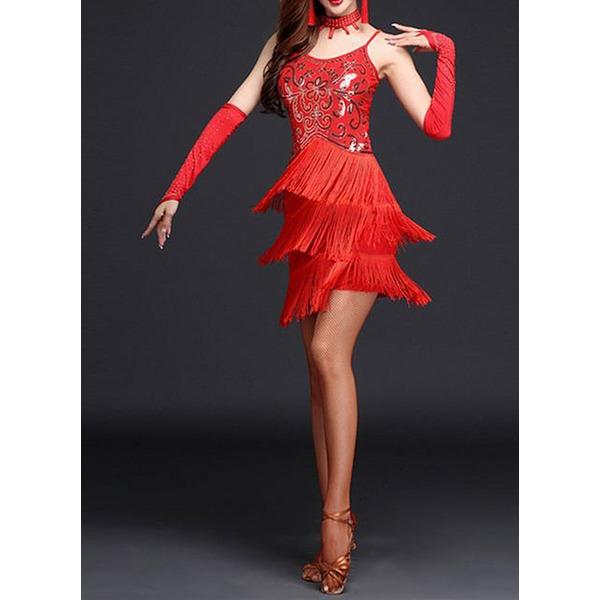 Femmes Tenue de danse Spandex Danse latine Robes