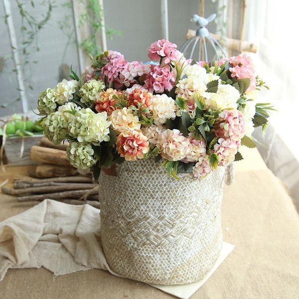 "Pěkný/Květinový design ""Beautiful Flower"" Tkanina Umělé květiny (Sada 4)"