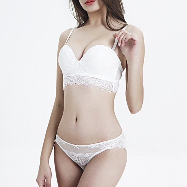 Pretty Chinlon/Nylon Wireless Bra/Lingerie Set/Bridal Lingerie