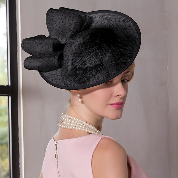 Ladies' Simple/Eye-catching/Pretty Cambric With Bowknot Fascinators